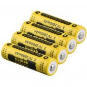 ER 14500 3.7V 2800mAh Batería Recargable De Li-ion Para LED Linterna Antorcha