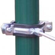 Ronde paalklem voor isolator M6 35-70mm