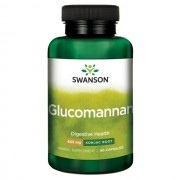 Fiber Dense Glucomannan Forte 665 mg - 100% Natural Konjac Root 90 capsule Slabit, Dieta Shirataki *