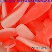 Strawberry Milkshakes Bottles Gummy Milk Shake Jelly Sweets