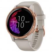 Smartwatch Garmin Venu Rose Gold, Silicone Light Sand