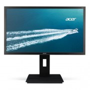 Monitor Acer B246HLymdpr, 61cm (24'') LCD, LED, 1920 x 1080, 100M:1, 250cd/m2, 170°/ 160°, 5ms, DVI,DarkGrey, repro, Pivot