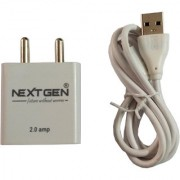 Nextgen Micro USB Charger for Samsung J6 Samsung J6 Plus Samsung J8 Samsung J2 Samsung J4 Plus and all compatible J series
