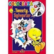 Carte de colorat, Colorează cu Tweety și Sylvester 2