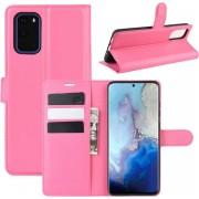 Samsung Galaxy S20 Hoesje - Book Case - Roze