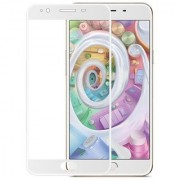 Oppo F1s tempered glass white full glass