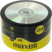 CD-R80 MAXELL, 700MB, 52x, 50 бр -