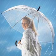 Umbrela transparenta