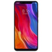 "Telefon Mobil Xiaomi Mi 8, Procesor Octa-Core 2.8GHz/1.8GHz, Super AMOLED capacitive touchscreen 6.21"", 6GB RAM, 256GB Flash, Camera Duala 12+12MP, Wi-Fi, 4G, Dual Sim, Android (Alb) + Cartela SIM Orange PrePay, 6 euro credit, 6 GB internet 4G, 2,000 minu"