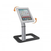 Edimeta Support Tablette Digitale de Comptoir avec une base alu et son antivol