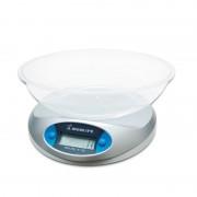 Cantar de bucatarie Momert, 5 kg, LCD, Gri
