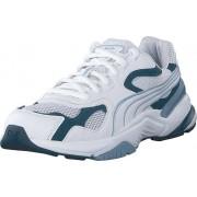 Puma Axis Supr Puma White-gibraltar Sea-denim, Skor, Sneakers & Sportskor, Löparskor, Blå, Vit, Unisex, 39