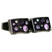 Blacksmithh Enamel Cufflink(Purple)