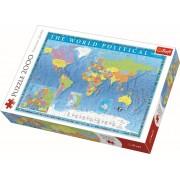 Puzzle clasic - Harta politica a lumii 2000 piese
