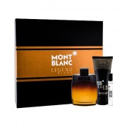 Montblanc Legend Night confezione regalo eau de parfum 100 ml + balsamo dopobarba 100 ml + eau de parfum 7,5 ml Uomo