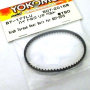 Yokomo B7-177LU High torque Rear belt for BD7 2016.