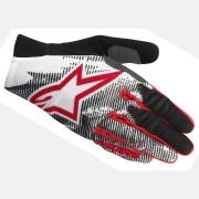 Alpinestars Aero Guantes de bicicleta Negro/Blanco/Rojo S