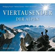 Fotoboek Viertausender der Alpen   Rother