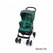 Baby Design MINI Dečija Kišobran Kolica - Zelena