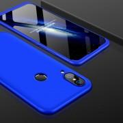 GKK Para Huawei P20 Lite PC 360 Grados La Plena Cobertura Protectora Caso Cubierta Trasera (azul)