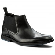"Боти ""Ролингстонки"" CLARKS - Prangley Top 261273187 Black Leather"