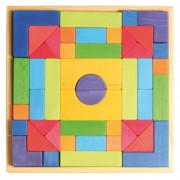 SET DE CONSTRUIT CU FORME GEOMETRICE - GRIMM'S Spiel und Holz Design (10201)