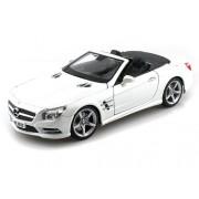 2012 Mercedes-Benz SL 500 Convertible 1/18 Pearl White