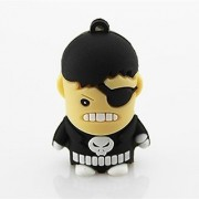 Nick Fury Shape Pendrve Brand Microware Colour Multicolor Capacity 8 Gb Interface Usb 2.0