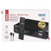 EMOS DVB-T2 vevő EM190-S HD J6014