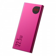 BASEUS Adaman power bank 2x USB / 1x Type-C 10000mAh Power Delivery 18W / Quick Charge 3.0 22.5W red (PPIMDA-B09)