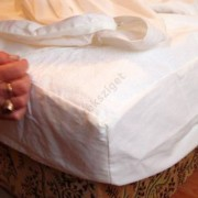 Körgumis matracvédő frottírlepedő 90x200cm, Sabata antiallergén oldalgumis lepedő