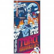 Artland Publications Serigrafía Star Wars: el despertar de la Fuerza - Mark Daniels - Edición Exclusiva de Zavvi
