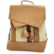 X Y SHOP Korean Style Ladies Bag Backpack(Beige, 4 L)