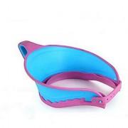 Futaba Hair Wash Shield Adjustable Baby Shower Cap - Blue