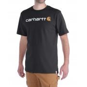 Carhartt Core Logo - T-shirt - Svart - S
