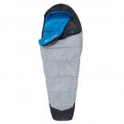 The North Face Blue Kazoo -9 graden Regular Slaapzak zip left high rise grey/hyper blue