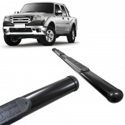 Estribo Lateral Ford Ranger 1998 a 2012 Oval Preto VF