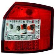 Set fari fanali posteriori TUNING per AUDI A4 Avant 2000-10/2004 LED rosso bianco