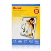 HARTIE FOTO KODAK, 270 g, A4 RC Ultra Premium glossy, 20 coli