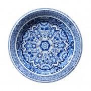 MOOOI CARPETS tappeto DELFT BLUE PLATE Signature collection