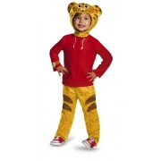 Disguise Daniel Tigers Neighborhood Daniel Tiger Classic Toddler Costume, Large/4-6