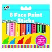 Set pictura pe fata pentru copii Galt, 8 culori, 3 ani+