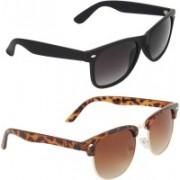 Zyaden Wayfarer, Oval Sunglasses(Multicolor)