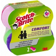 Burete ergonomic 2/set comfort delicat colors Scotch-Brite
