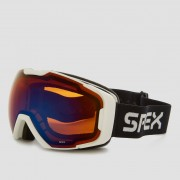 SPEX Mammoth skibril wit Dames - wit - Size: ONESIZE