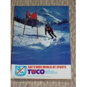Vintage Tuco Abcs Wide World Of Sports Snow Skiing Picture Puzzle 250 Pieces 1972