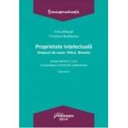 Proprietate intelectuala. Drepturi de autor. Marci. Brevete vol.1 - Irina Albusel