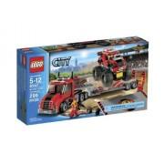 Monster Truck Transporter By Lego City