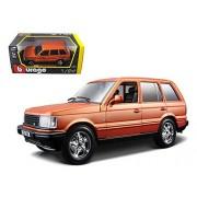 Bburago Land Rover Range Orange 1/24 Diecast Car Model By