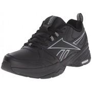Reebok Men's Royal Mt Cross-Trainer Shoe, Black/Flat Grey, 9.5 M US